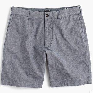 J.Crew Men's stretch chambray shorts